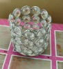 2022-CS crystal glass votive candle holder for home & wedding & party decor