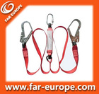 Energy Absorber With Twin Lanyard and Hooks,Safety Lanyard