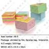 sticky note cube/paper cube/die-cut cube