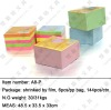 sticky note cube/paper cube/die-cut cube