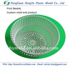 Plastic injection moulding of Fruit Basket