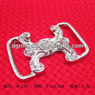 crystal alloy belt buckle