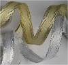 metallic ribbons for decoration