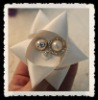 Special Star Shape Beautiful Ribbon Flower for Decoration