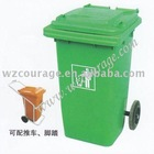 pedal recycle plastic outdoor dustbin