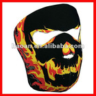 Neoprene Blackout Skull snowboard mask manufactures NSM-028