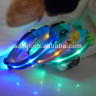 Hot!!! led dog chain dog tag dog collar for promotion