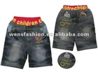 Children Cotton Jeans Pants