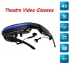 New product 50inch virtual cinema glasses with 19 languages