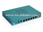 Marvell ARMv5TE Based Network Security Barebone PC with 5x LAN, 1x SATAII, 1x USB2.0, 1x SD Card