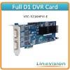 H.264 Full D1 DVR Card support 16ch 480fps D1 recording and 2ch Matrix outputs, VEC-5216HFVI-E