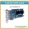 H.264 Full D1 DVR Card support 16ch 480fps D1 recording and 2ch Matrix outputs, VEC-5216HFVI-E