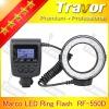 NEW arrival Digital Camera RF-550D camera light Led ring macro flash