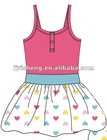 China Summer new stye flower girl's dress 2012