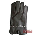 Mens fashion sheepskin leather gloves