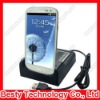 Mobile Phone USB Sync Dual Desktop Dock Charger for Samsung Galaxy S3 for i9300