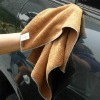 cleaning car microfibre towel