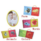 Toy book,baby cloth book,educational books,English baby cloth book,soft cloth baby book