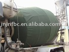 winter coating for cement mixer truck