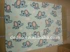 Cute Elephant Printing Kids Fleece Blanket