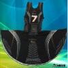 Customize women's netball dresses/100%polyester lycra