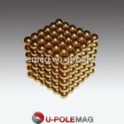D5mm Gold Magnetic Sphere