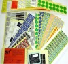 Adhesive/Vinyl sticker printing/pvc sticker printing/label printing