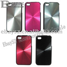CD Grain Hard Back Case Cover With Frame For iPhone 4 4G IP-148