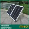 60w solar folding panel, solar panel, with solar regulator, for battery charging