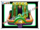 Happy outdoor inflatable amusement park,inflatable funcity