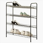 Metal shoe racks retail