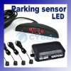 LED Display 4 Parking Sensor Reverse Backup Radar