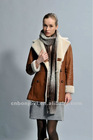 sheep skin and fur garment