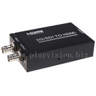 Professional HD-SDI to HDMI Converter 1080p 1080i 720p