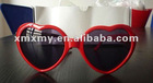 2012 fashion hottest red heart Sunglasses