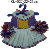 Beautiful Cheerleaders Outfit--Toy accessory for 16 bear skin.