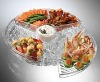 Condiments On Ice /Portable Chilled Condiment/Condiment on Ice Chilled Condiment Serving Tray
