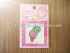 Colorful Ice Cream Jewelry Acrylic Sticker