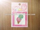 Colorful Ice Cream Jewelry Acrylic Sticker