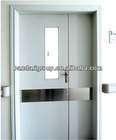 hospital use hot sale steel wooden door iron door
