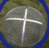 stainless steel fire pit lid