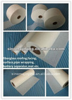 Fiberglass facing tissueused used for new decorative substrate for mineral products, cotton, board, glass curtain wall