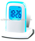 USB LCD Clock BR-615HUB color changing