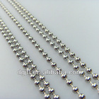 Fashion metal 4.5mm beaded chain