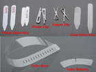 Shirt package materials(Collar Band,Collar Butterfly,Collar Stay)