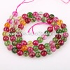 Natural colored crystal beads