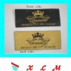 fashion garment woven label