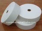 Raw material nonwoven for wet tissue