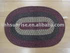 Rope braided rug