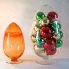 S/2 Egg-shaped Candy Jar Various Colors are Available